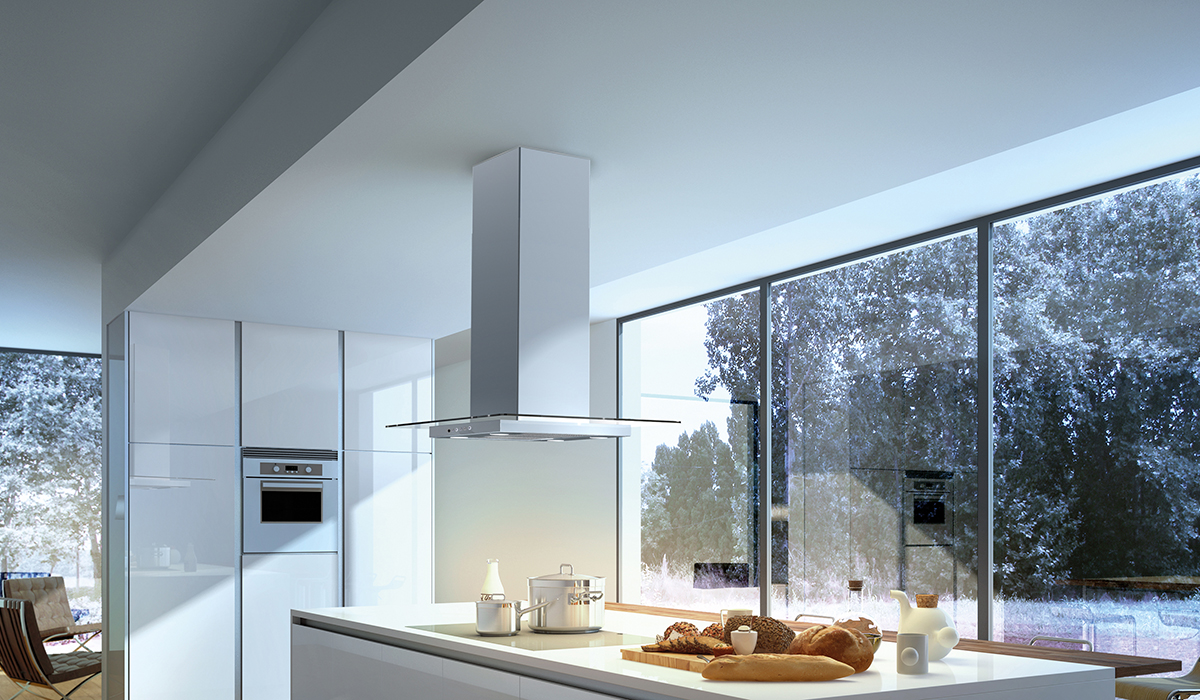 Glassy Isola | Faber Range Hoods US and Canada